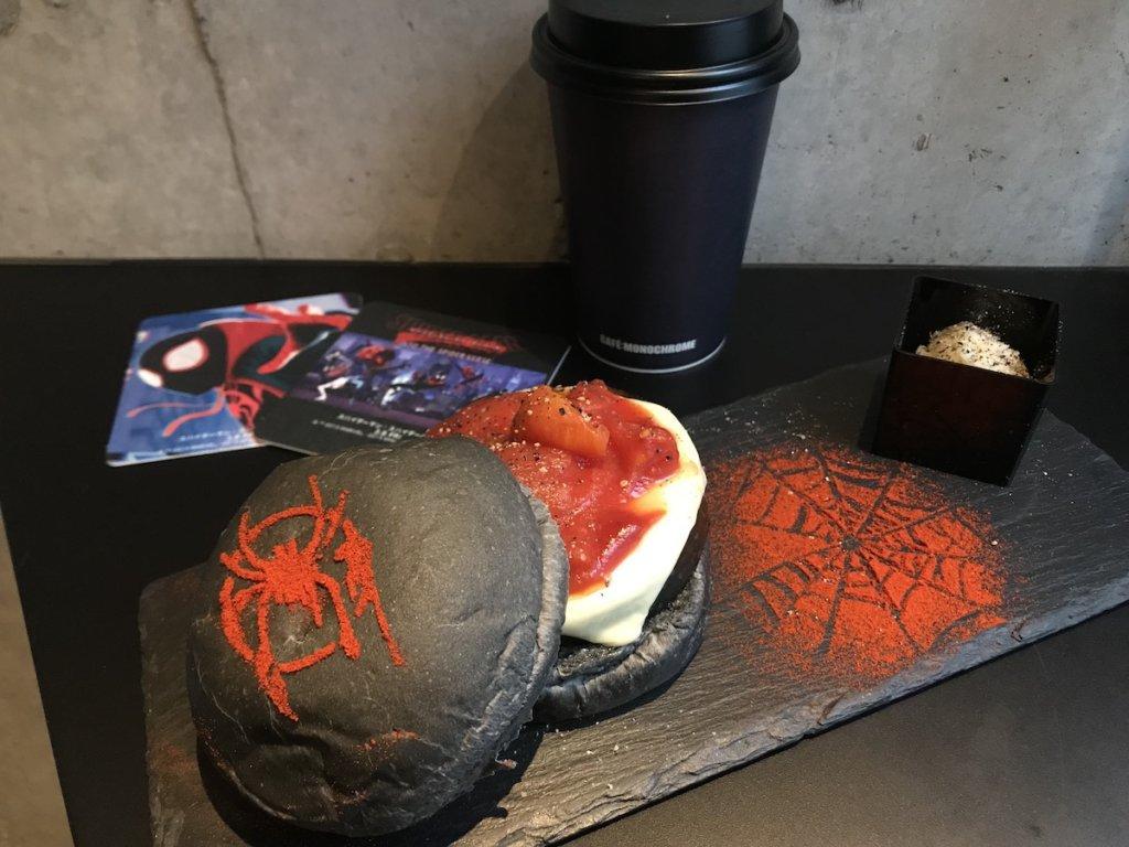 『スパイダーマンスパイダーバース』コラボカフェ