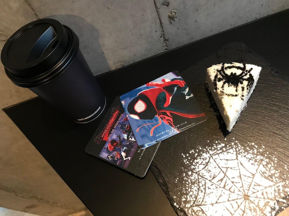 『スパイダーマン:スパイダーバース』コラボカフェ