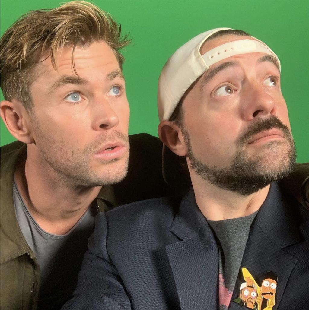 クリス・ヘムズワースが『ジェイ&サイレント・ボブ』リブート版に出演へ ─ DCドラマ「フラッシュ」メンバーも登場
