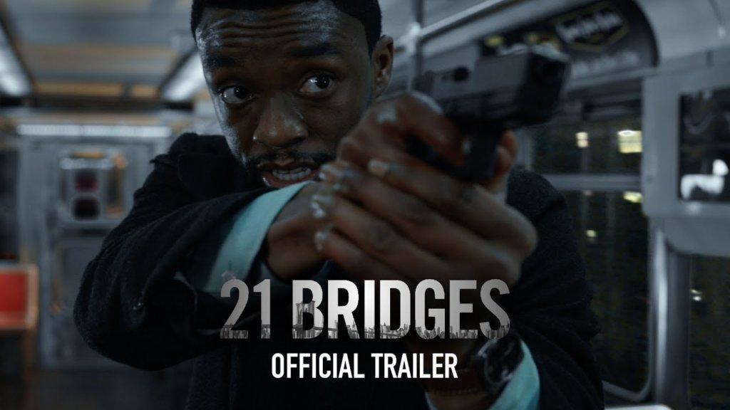 ブラックパンサー役チャドウィック・ボーズマン主演『21 Bridges』米予告編 ─ マンハッタンを封鎖せよ、『アベンジャーズ/エンドゲーム』監督がプロデュース