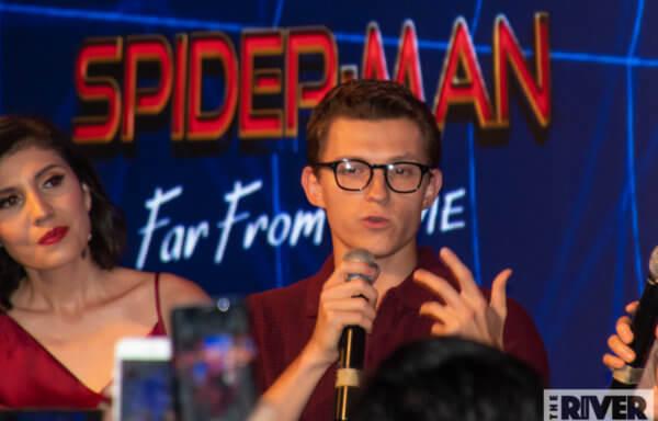 スパイダーマン:ファー・フロム・ホーム バリ レッドカーペット