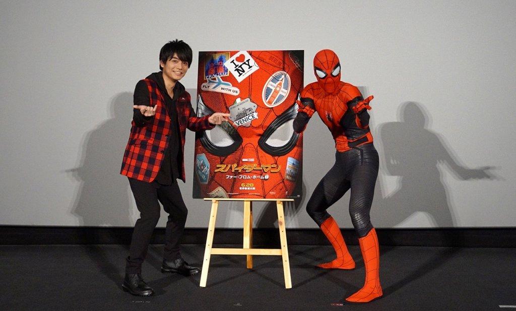 【スパイダーマン:ファー・フロム・ホーム】カウントダウンイベント