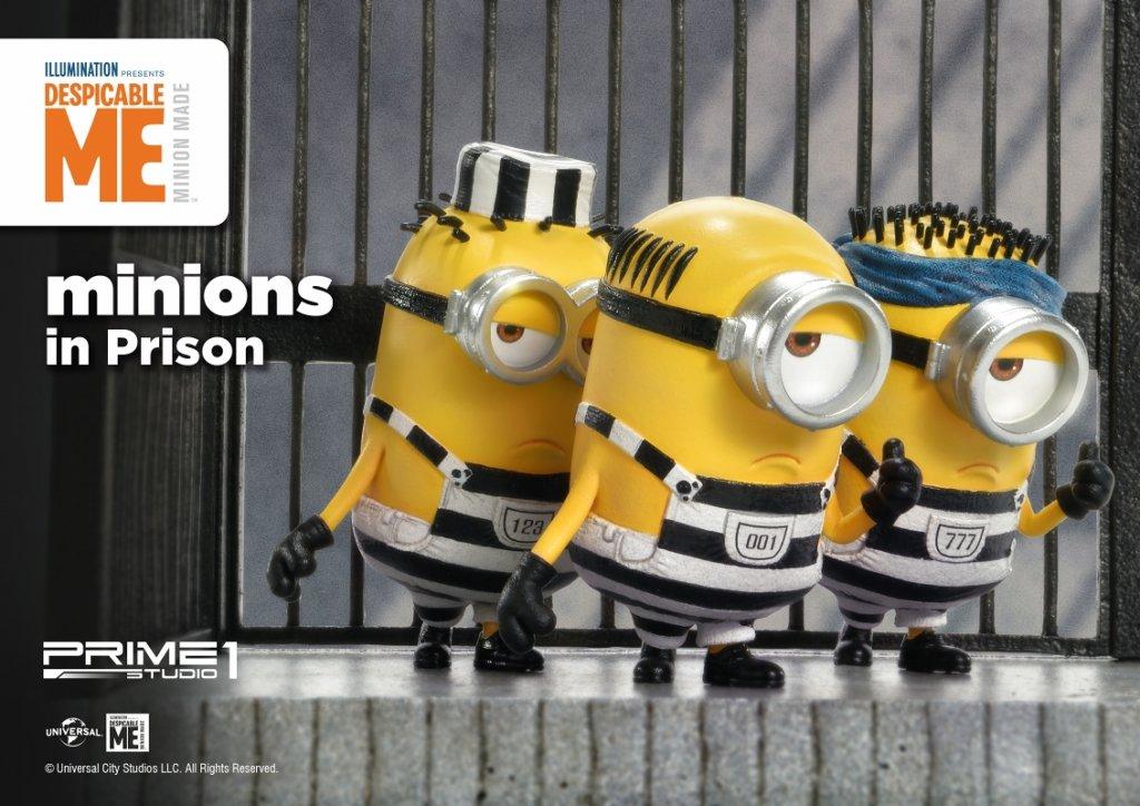 プライムコレクタブルフィギュア/ ミニオン ズ: 牢屋のミニオン スタチュー PCFMINI-05