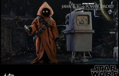 『スター・ウォーズ エピソード4/新たなる希望』1/6スケールフィギュア ジャワ&EG-6パワードロイド(2体セット)