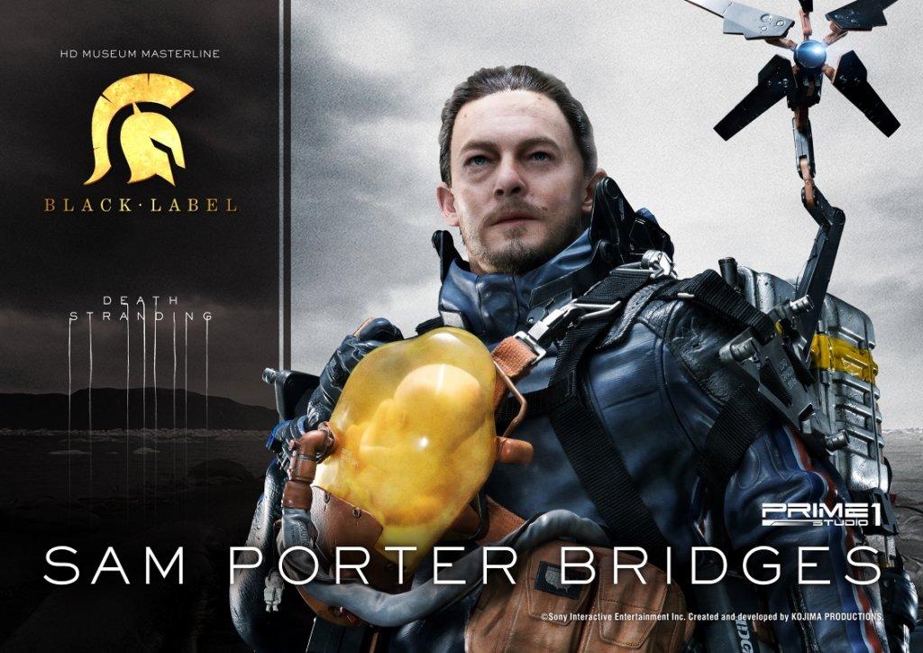 プライム1スタジオ HDミュージアムマスターライン/ デス・ストランディング: サム・ポーター・ブ リッジズ 1/2 スタチュー
