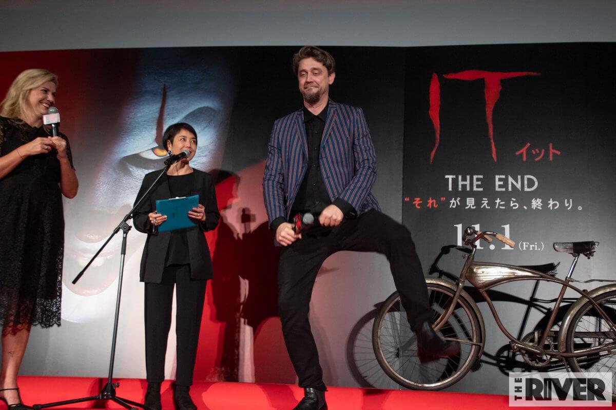 """映画『IT/イット THE END """"それ""""が見えたら、終わり。』アンディ・ムスキエティ監督、バーバラ・ムスキエティ登壇 ファンミーティング"""