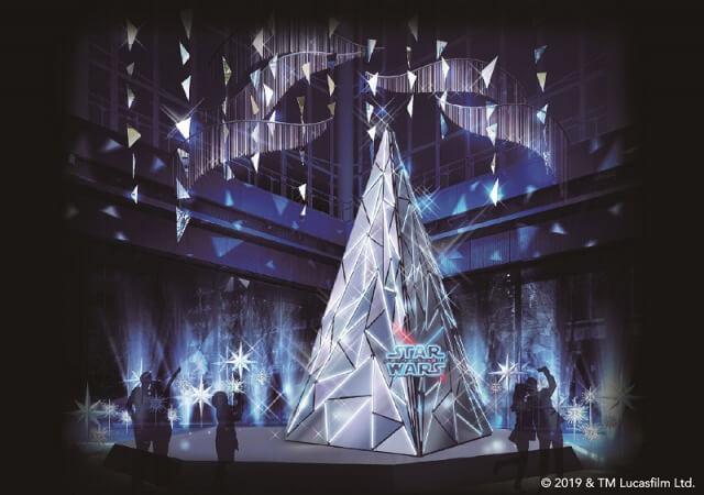 STAR WARS Marunouchi Bright Christmas 2019 -Precious for you-