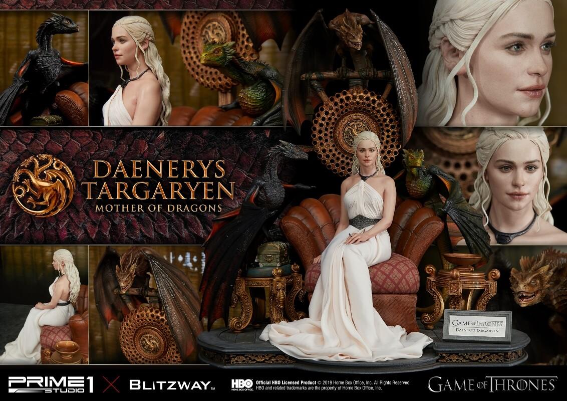 ゲーム・オブ・スローンズ: マザー・オブ・ドラゴンズ デナーリス・ターガリエン スタチュー UPMGOT-01