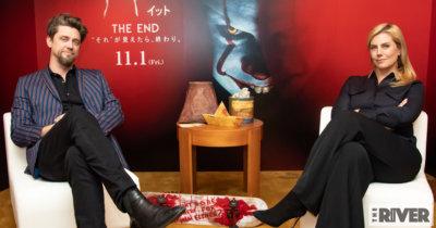 """『IT/イット THE END """"それ""""が見えたら、終わり。』アンディ・ムスキエティ監督、バルバラ・ムスキエティ"""
