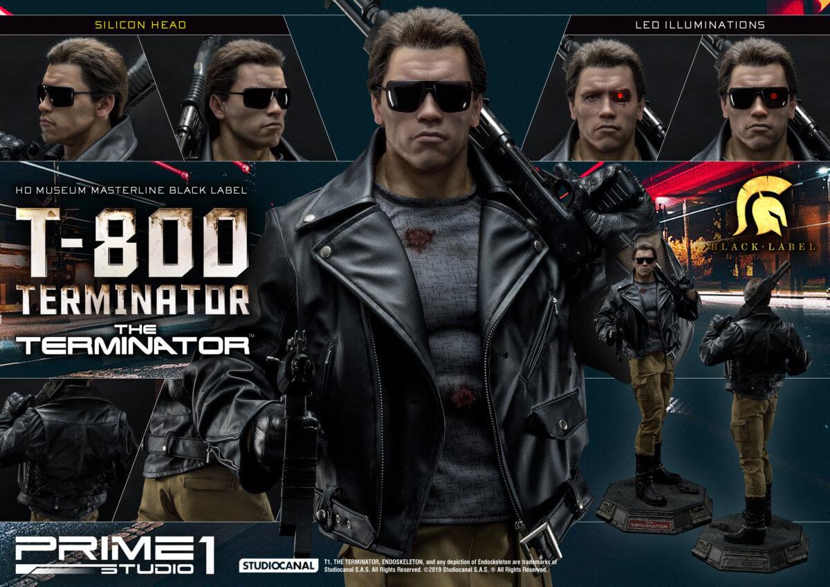 HDミュージアムマスターライン ブラッ クレーベル/ ターミネーター: T-800