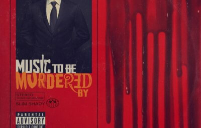 エミネム『Music To Be Murdered By』フィジカル版ジャケット