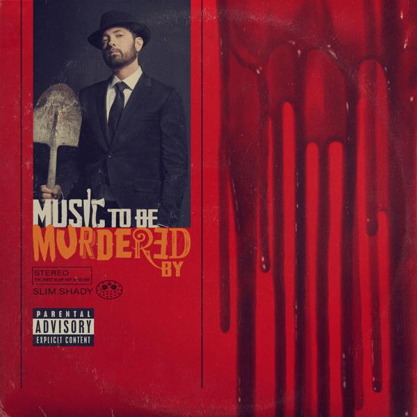 エミネム『Music To Be Murdered By』デジタル版ジャケット