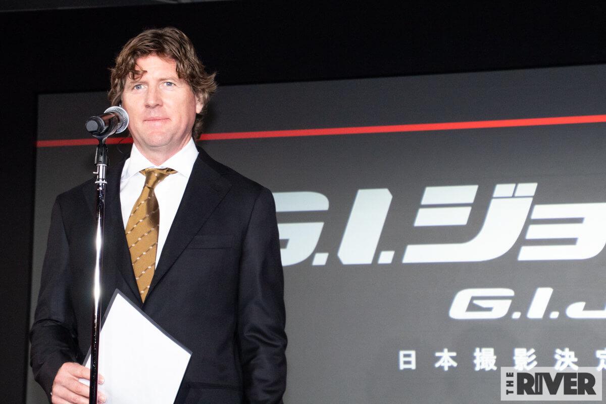 『G.I.ジョー:漆黒のスネークアイズ』製作発表会見