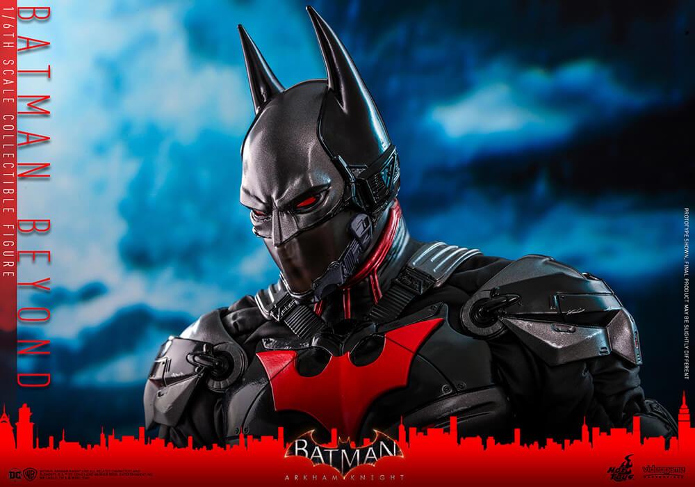 【ビデオゲーム・マスターピース】 『バットマン:アーカム・ナイト』1/6スケールフィギュア    バットマン(ザ・フューチャー版)