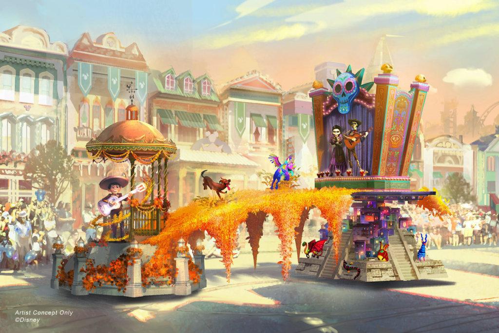 ピクサー映画の世界観を満喫!カリフォルニア ディズニーランド・リゾートに新パレード「マジック・パフンズ」が登場!