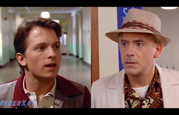 トム・ホランドがロバート・ダウニー・Jr.との『バック・トゥ・ザ・フューチャー』ディープフェイク映像を称賛、リメイク企画の存在事実も示唆