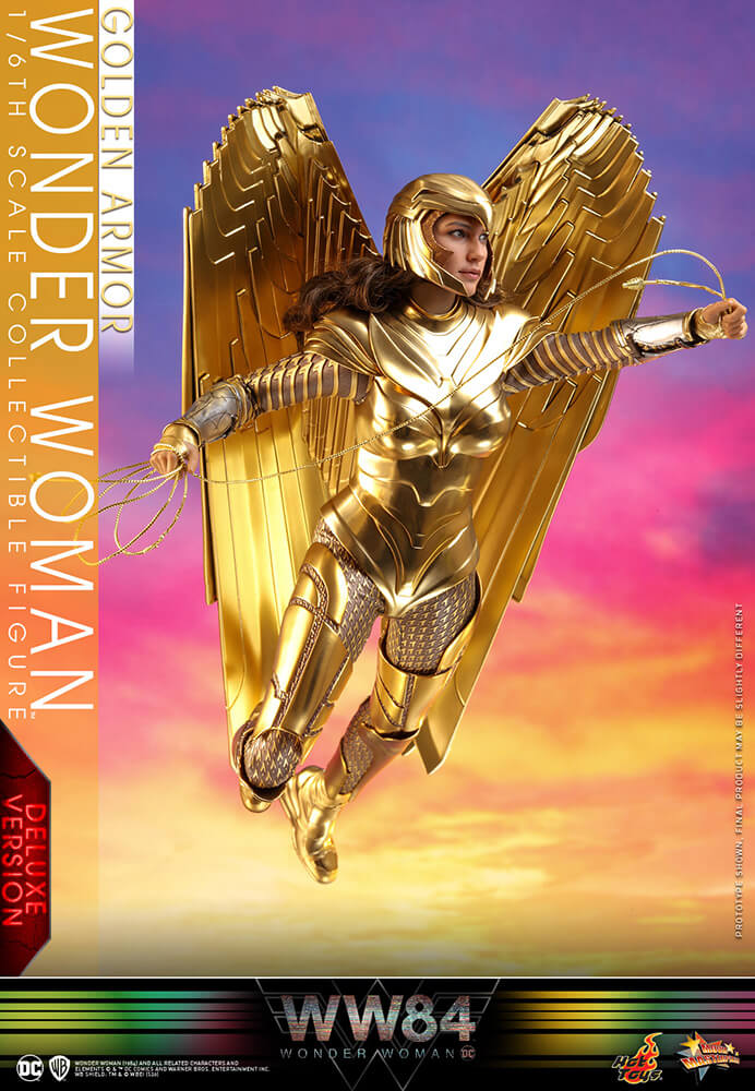 【ムービー・マスターピース】『ワンダーウーマン 1984』 1/6スケールフィギュア ワンダーウーマン(ゴールドアーマー版) [ボーナスアクセサリー付き]