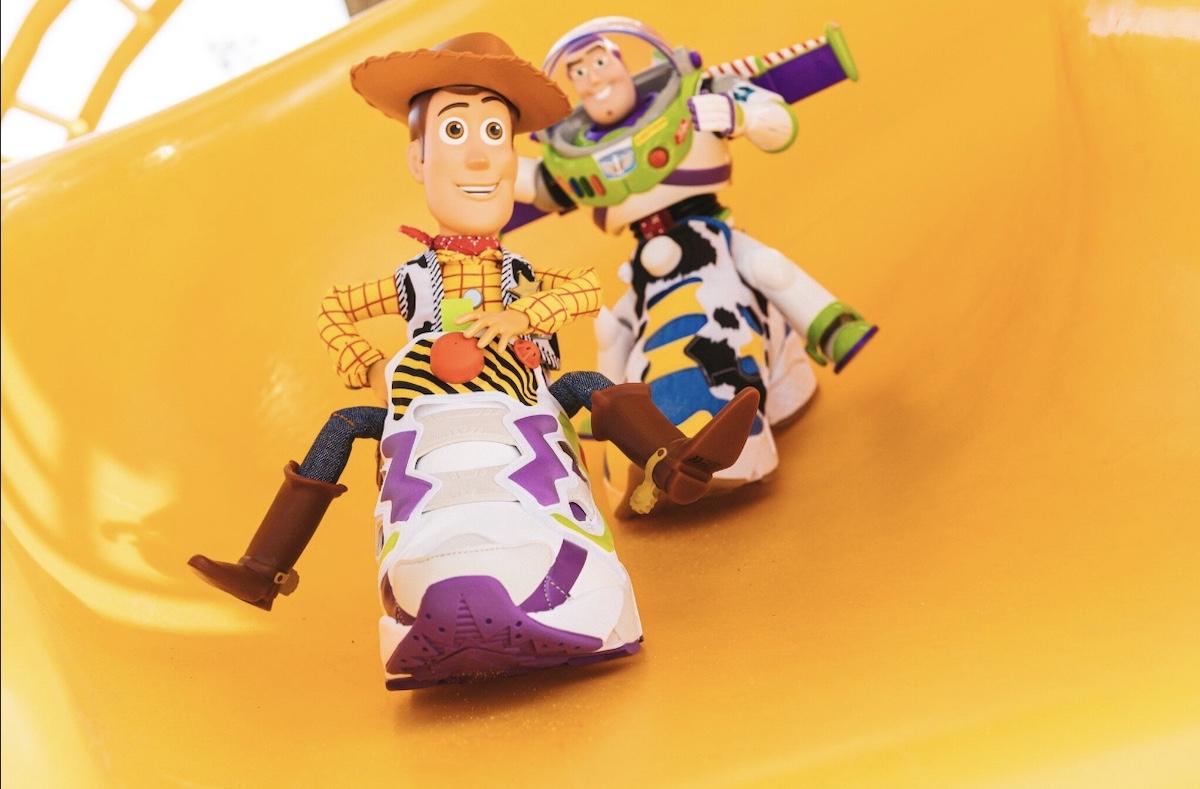 トイ・ストーリーのスニーカー Buzz & Woody Instapump Fury
