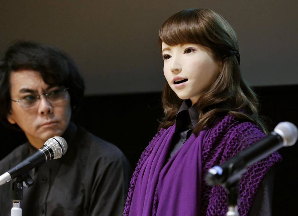 ERICA - Female Android Robot 石黒浩 Hiroshi Ishiguro