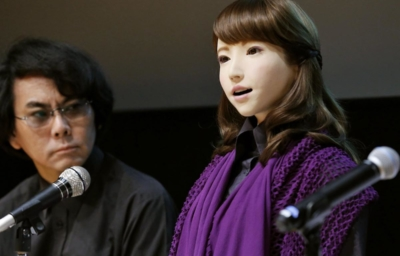 ERICA - Female Android Robot 石黒浩 Hiroshi Ishiguro