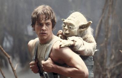 スター・ウォーズ ルーク・スカイウォーカーとヨーダ 『エピソード5/帝国の逆襲』