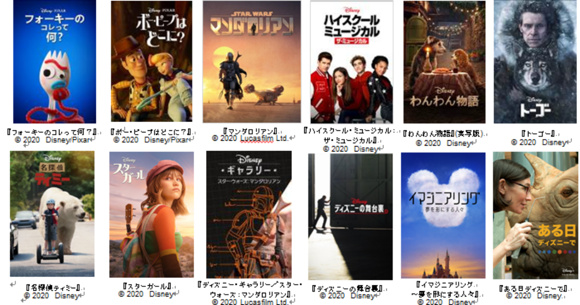 Disney+(ディズニープラス)オリジナル作品の魅力を徹底解説!配信に先駆け日本語版映像も本邦初公開!