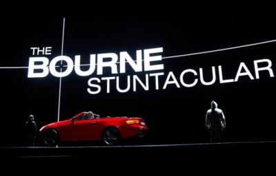The Bourne Stuntacular