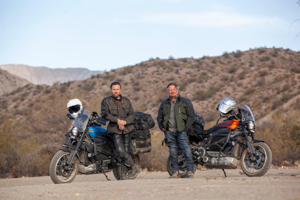 「ユアン・マクレガー 大陸縦断 バイクの旅」新作がAppleへ