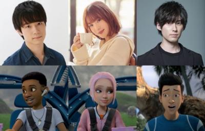 Netflix『ジュラシック・ワールド/サバイバル・キャンプ』吹替声優&キャラクター写真