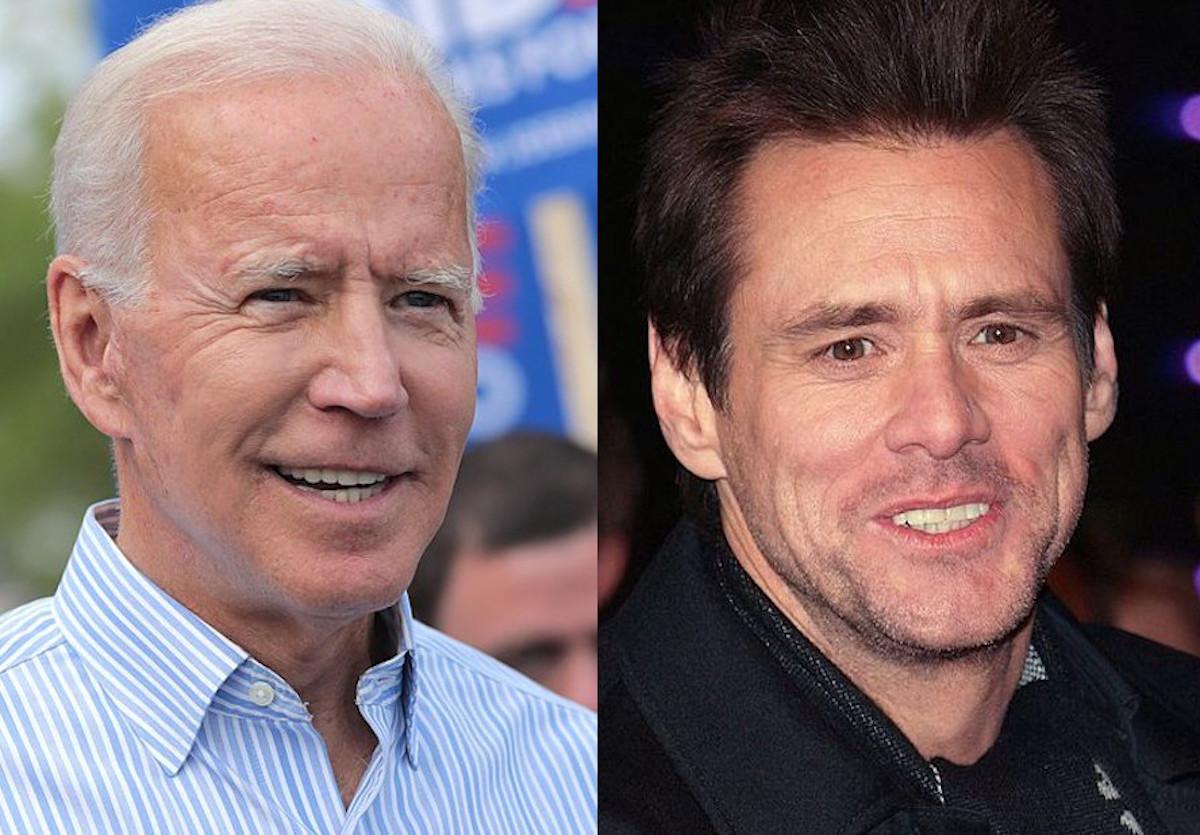 ジム・キャリー ジョー・バイデン Jim Carrey Joe Biden