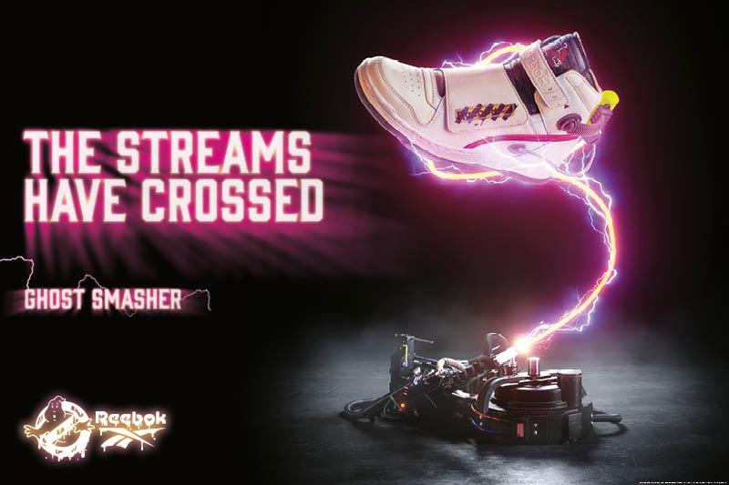 『ゴーストバスターズ』とのコラボレーション第1弾 プロトンパックをイメージしたスニーカーやジャンプスーツなどファン必見のアイテム多数登場