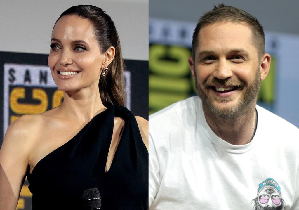 Tom Hardy トム・ハーディ Angelina Jolie アンジェリーナ・ジョリー
