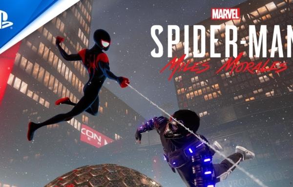 『スパイダーマン:スパイダーバース』アニメ調スーツ、『スパイダーマン:マイルズ・モラレス』に登場