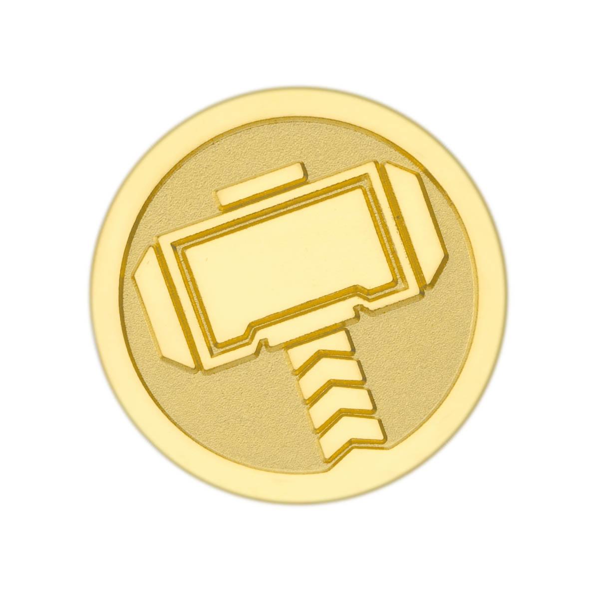 映画『アベンジャーズ/エンドゲーム』をモチーフにしたフレーム付き純金メダル
