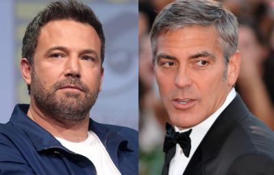 George Clooney ジョージ・クルーニー Ben Affleck ベン・アフレック