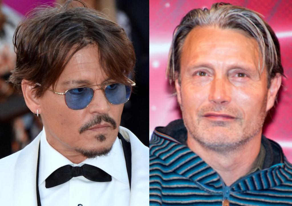 Mads Mikkelsen マッツ・ミケルセン Johnny Depp ジョニー・デップ
