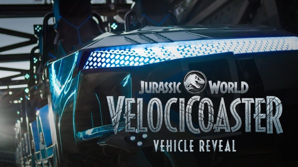 Jurassic World VelociCoaster Ride Vehicle