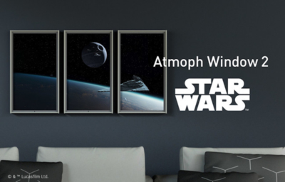 Atmoph Window 2 | Star Wars