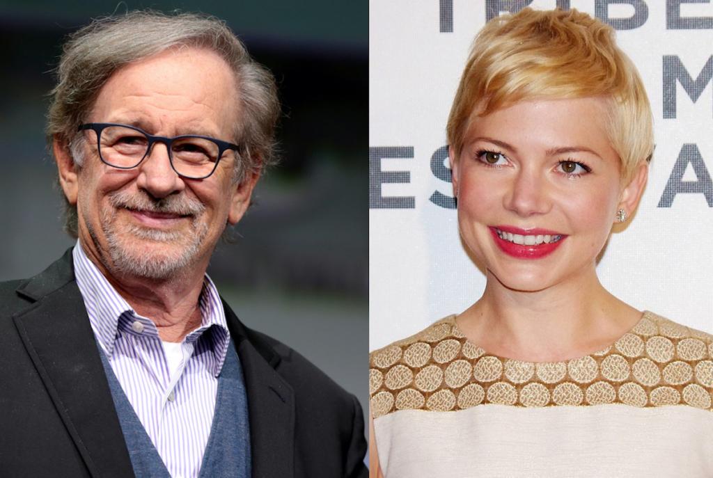 Steven Spielberg スティーブン・スピルバーグ Michelle Williams ミシェル・ウィリアムズ
