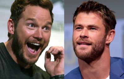 クリス・プラット Chris Pratt クリス・ヘムズワース Chris Hemsworth
