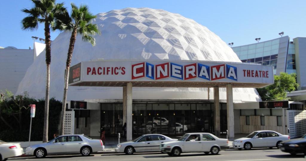 Cinerama Dome シネラマ・ドーム