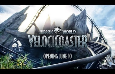 Jurassic World VelociCoaster Ride