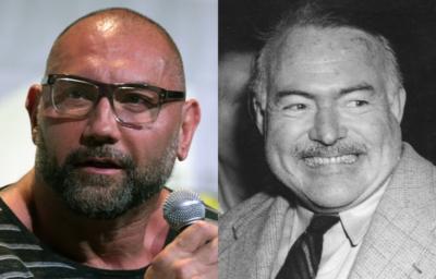 Dava Bautista デイヴ・バウティスタ Arnest Hemingway アーネスト・ヘミングウェイ