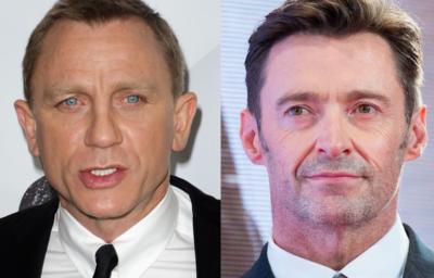 Daniel Craig ダニエル・クレイグ Hugh Jackman ヒュー・ジャックマン